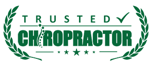 Trusted Chiropractor Badge Green